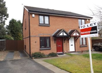 Thumbnail 2 bed semi-detached house to rent in Christopher Close, Wollaton, Nottingham