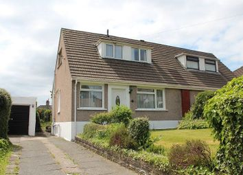 Thumbnail 2 bedroom semi-detached bungalow for sale in Tawe View Crescent, Morriston, Swansea.