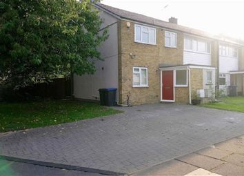 Thumbnail 2 bed end terrace house to rent in Spencers Croft, Harlow, Essex