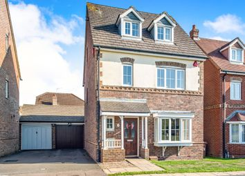 Thumbnail 4 bed detached house for sale in Halifax Close, Leavesden, Watford