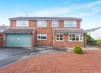 Thumbnail 4 bed detached house for sale in Cromwell Avenue, Findern, Derby