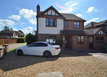 Thumbnail 4 bed detached house for sale in Woodcote Park, Wisbech