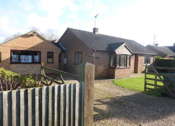 Thumbnail 4 bed detached bungalow for sale in Silvers Lane, Murrow, Wisbech