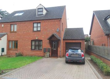 Thumbnail 3 bed semi-detached house for sale in Cromwell Road, Powick, Worcester