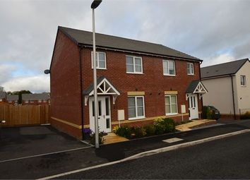 Thumbnail 3 bedroom semi-detached house for sale in Dandelion Place, Hele Park, Newton Abbot, Devon.