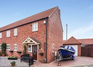 Thumbnail 3 bed semi-detached house for sale in Fenton Fields, Lincoln