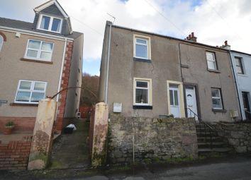 Thumbnail 2 bed end terrace house for sale in Eden Terrace, Parton, Whitehaven, Cumbria