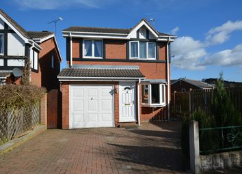 Thumbnail 3 bedroom detached house for sale in Longcroft Close, New Tupton, Chesterfield