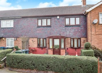 Thumbnail 4 bed terraced house for sale in Harwood Street, West Bromwich
