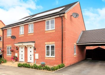 Thumbnail 3 bed semi-detached house for sale in Shipton Grove, Hempsted Park, Peterborough