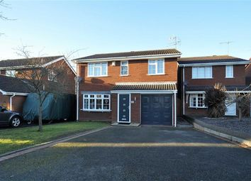 Thumbnail 4 bed detached house for sale in Stokesay Avenue, Perton, Wolverhampton, West Midlands