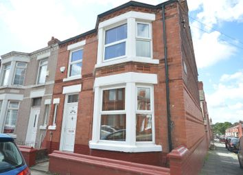 Thumbnail 3 bed end terrace house for sale in Wingate Road, Aigburth, Liverpool