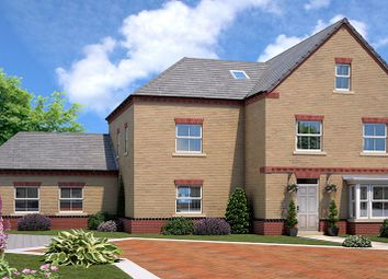 Thumbnail 5 bed link-detached house for sale in The Allerton, Elmete Lane, Leeds