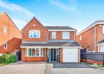 Thumbnail 4 bed detached house for sale in The Meadows, Cannock