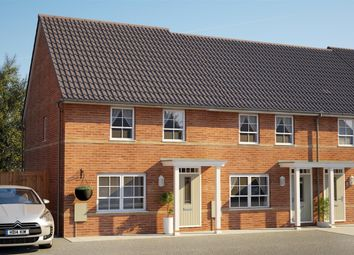 Thumbnail 2 bed terraced house for sale in Athelney Avenue, Westbury, Wiltshire