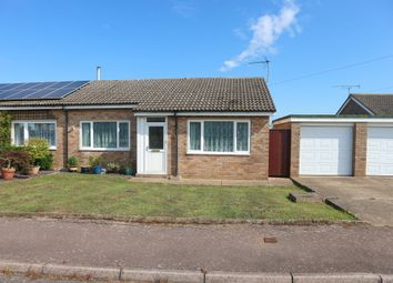 Thumbnail 2 bedroom semi-detached bungalow for sale in Barons Close, Halesworth