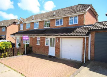 Thumbnail 4 bed semi-detached house for sale in The Meade, Hawkinge