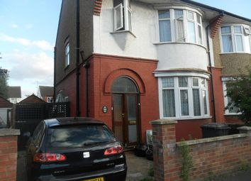 Thumbnail 3 bed semi-detached house to rent in Nunnery Lane, Luton