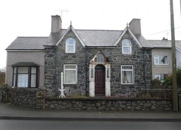 Thumbnail 3 bed detached house for sale in Menai View, Dinas, Caernarfon