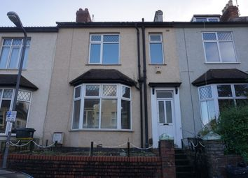 Thumbnail 4 bed terraced house to rent in Allington Road, Southville