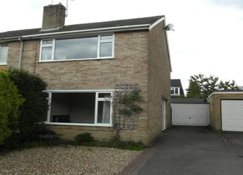 Thumbnail 3 bed semi-detached house to rent in Oakwood, Church Crookham, Fleet