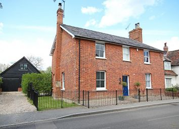 Thumbnail 4 bed detached house to rent in The Street, High Easter, Essex