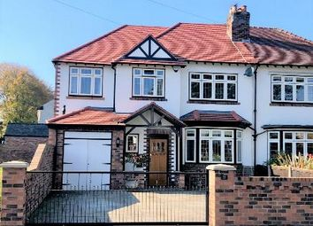 Thumbnail 3 bed semi-detached house for sale in Green Lane, Freshfield, Liverpool