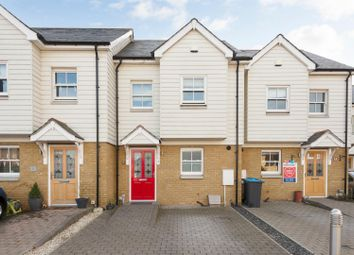 Thumbnail 3 bed terraced house for sale in Hamilton Close, Bishops Avenue, Broadstairs
