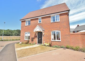Thumbnail 3 bed semi-detached house for sale in Colossus Way, Norwich