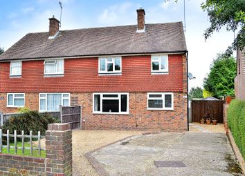 Thumbnail 4 bed semi-detached house for sale in Crawley Down, West Sussex