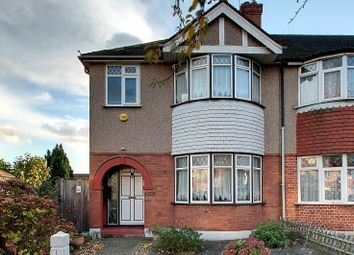 Thumbnail 3 bed end terrace house to rent in Whitton Avenue West, London
