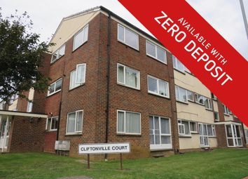 Thumbnail 1 bed flat to rent in Cliftonville Court, Abington, Northampton