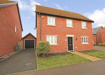 Thumbnail 3 bed detached house to rent in Hallaton Drive, Syston, Leicester, Leicestershire