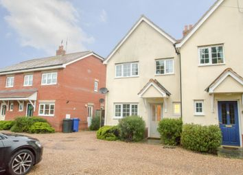 Thumbnail 3 bedroom semi-detached house for sale in Mill Road, Kedington, Haverhill