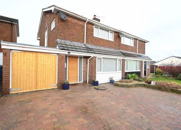 Thumbnail 3 bed semi-detached house for sale in Croft Avenue, Burscough, Ormskirk