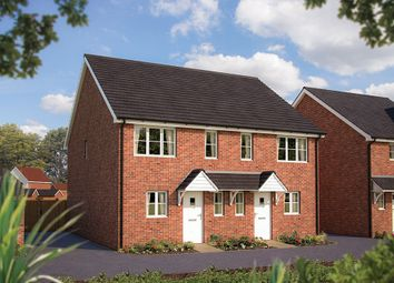 "Thumbnail 2 bedroom semi-detached house for sale in ""The Amberley"" at Appleton Way, Shinfield, Reading"
