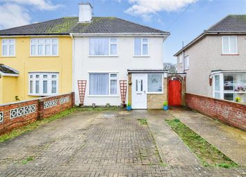 Thumbnail 3 bed semi-detached house for sale in Worcester Road, Maidstone, Kent