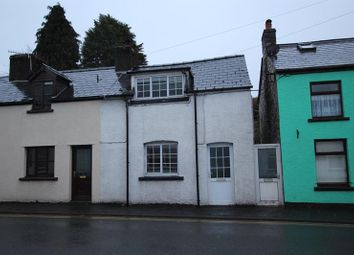 Thumbnail 1 bedroom terraced house to rent in Sennybridge, Brecon