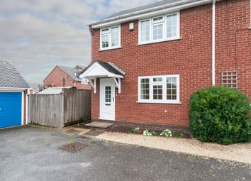 Thumbnail 3 bed end terrace house for sale in Orchard Close, Diseworth, Diseworth, Derbyshire