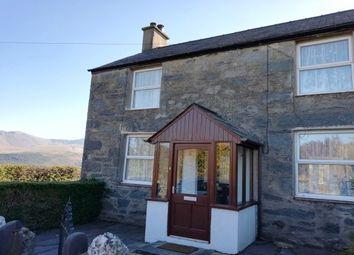 Thumbnail 2 bed cottage to rent in Bryniau Terrace, Mynydd Llandygai, Bangor