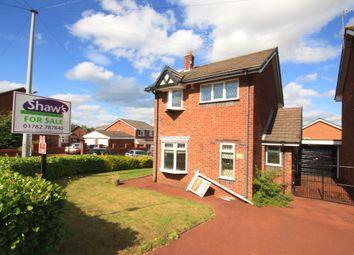 Thumbnail 3 bed detached house for sale in Chesterwood Road, Burslem, Stoke-On-Trent