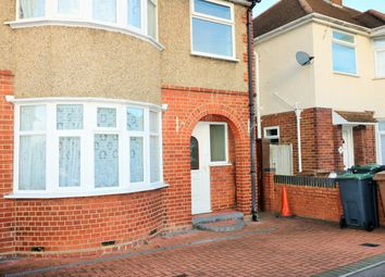 Thumbnail 3 bed semi-detached house to rent in Wickstead Avenue, Luton