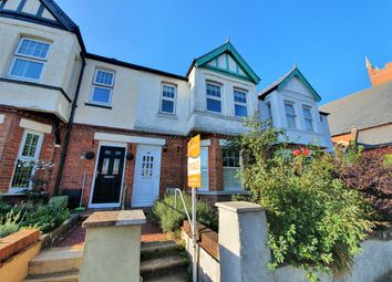 Thumbnail 3 bed terraced house for sale in Cheriton Road, Cheriton, Folkestone, Kent