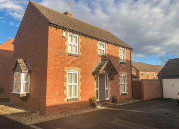 Thumbnail 3 bed detached house for sale in Launce Grove, Heathcote, Warwick