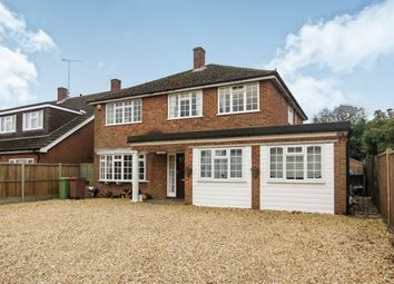 Thumbnail 6 bed detached house for sale in Halls Lane, Shinfield, Reading
