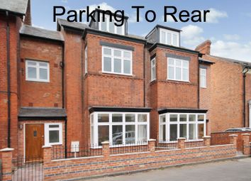Thumbnail 3 bedroom terraced house for sale in Knighton Drive, Stoneygate, Leicester