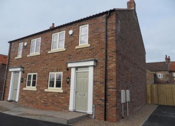Thumbnail 3 bed semi-detached house to rent in Joseph Hutchinson Court, Chapel Court, Easingwold, 3