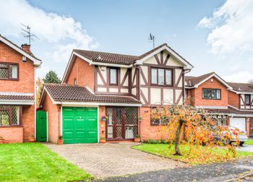 Thumbnail 3 bed detached house for sale in Roman Way, Bromsgrove
