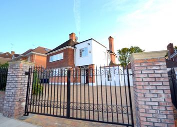 Thumbnail 5 bed detached house to rent in Hendon Avenue, Finchley Central, Finchley, London