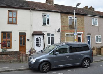 Thumbnail 3 bed terraced house to rent in Cowper Road, Rainham